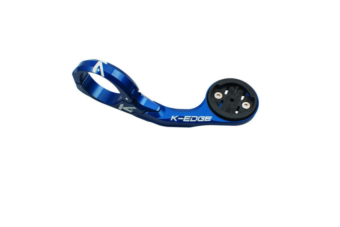 K-Edge Garmin Aero Mount XL - 31.8mm - Blue - Cycles Galleria Melbourne