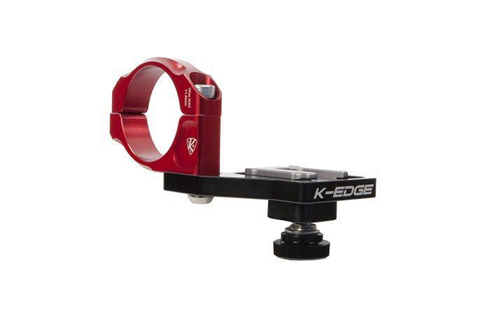 K-Edge Pioneer Handlebar Mount - 31.8mm - Red