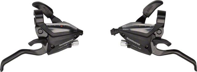 Shimano ST-EF500 ALTUS EZ-FIRE STI SET 7sp Black
