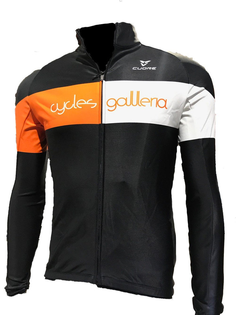 CG Long Sleeved Jersey 2017 - Cycles Galleria Melbourne