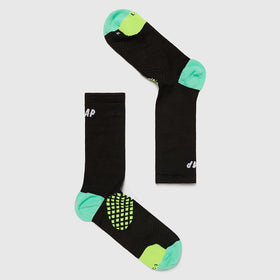 MAAP Focus Compression Sock - Black - Cycles Galleria Melbourne