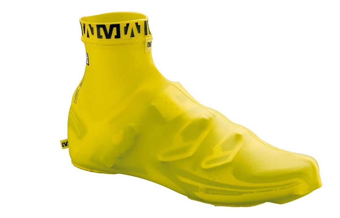 SHOE COVER AERO YELLOW S - Cycles Galleria Melbourne