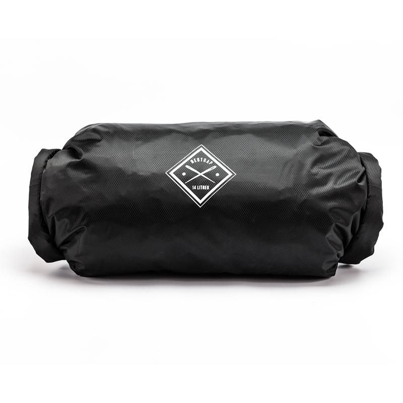 Restrap Dry Bag Double Roll 14 Litres Black - Cycles Galleria Melbourne