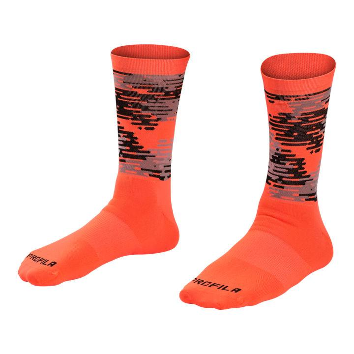 Bontrager Race Sock LTD Large (43-45) Radioactive Orange