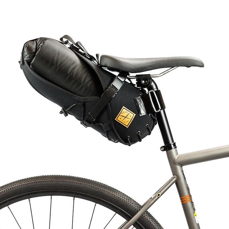 Restrap Saddle Bag + Dry Bag Small 8 litre Black/Black
