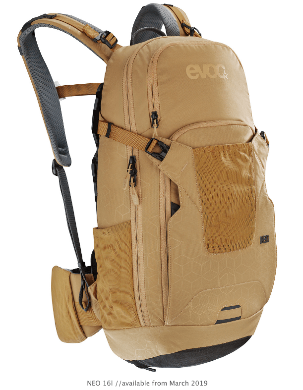 Evoc Neo 16L Gold S/M Backpack