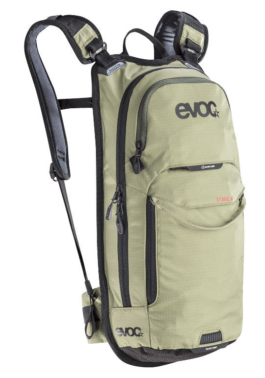 Evoc Stage 6L + 2Lt Bladder Light Olive Backpack