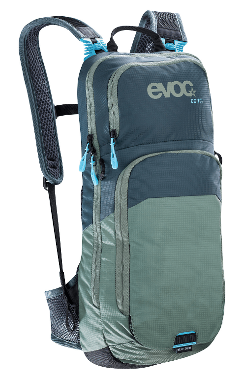 Evoc Cross Country 10L + 2L Bladder Slate Olive Backpack - Cycles Galleria Melbourne