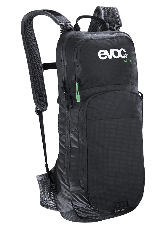 Evoc Cross Country 10L + 2L Bladder Black Backpack - Cycles Galleria Melbourne