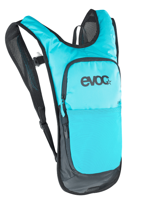 Evoc Cross Country 2L + 2Lt Bladder Neon Blue Backpack - Cycles Galleria Melbourne