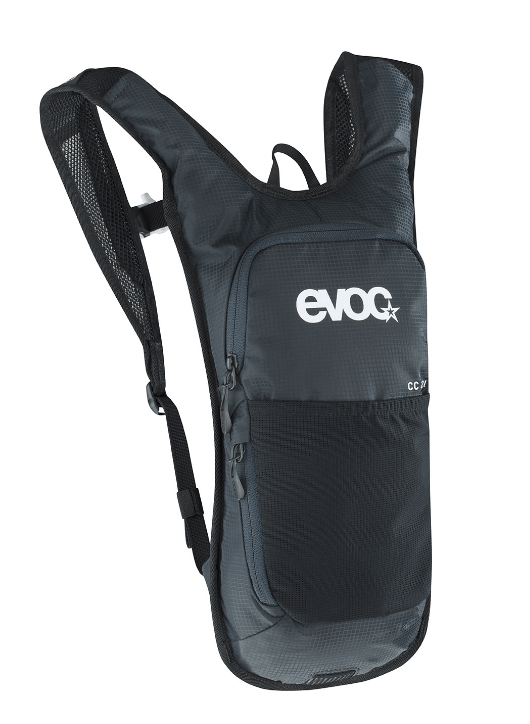 Evoc Cross Country 2L + 2Lt Bladder Black Backpack - Cycles Galleria Melbourne