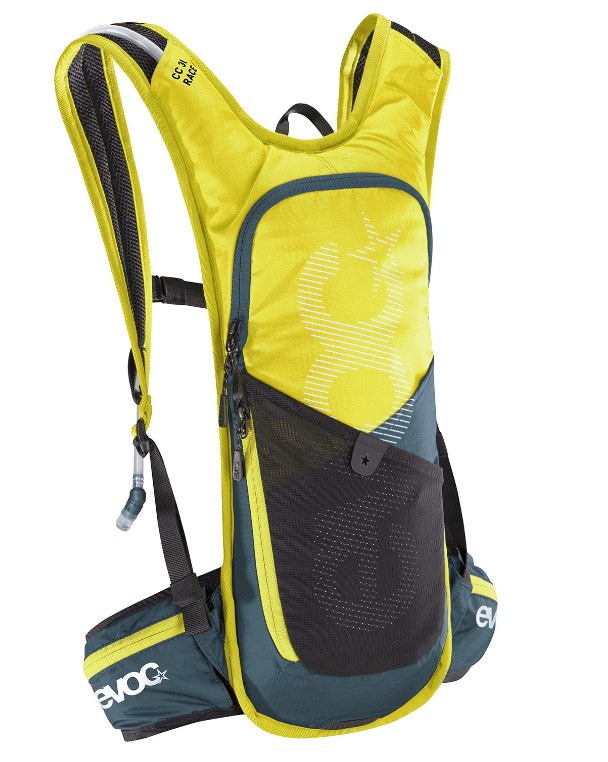 Evoc Cross Country 3L Race + 2L Bladder Sulp/Slate Backpack