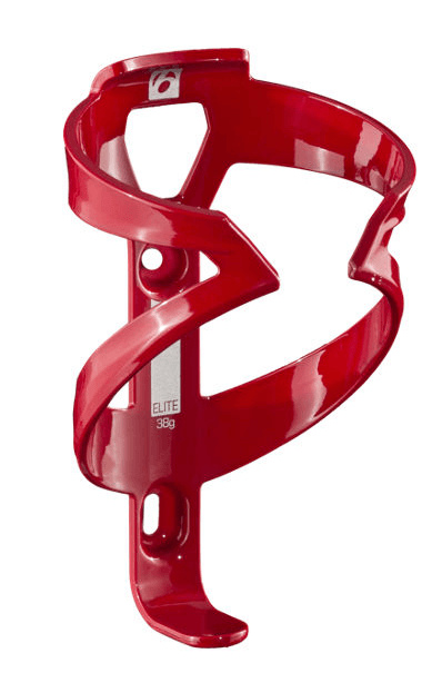 Red electra water bottle cage