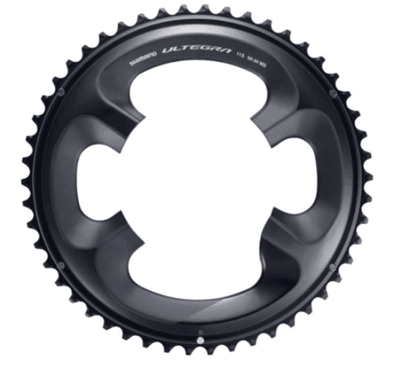 Shimano FC-R8000 Chainring 50T 50T-MS for 50-34T - Cycles Galleria Melbourne