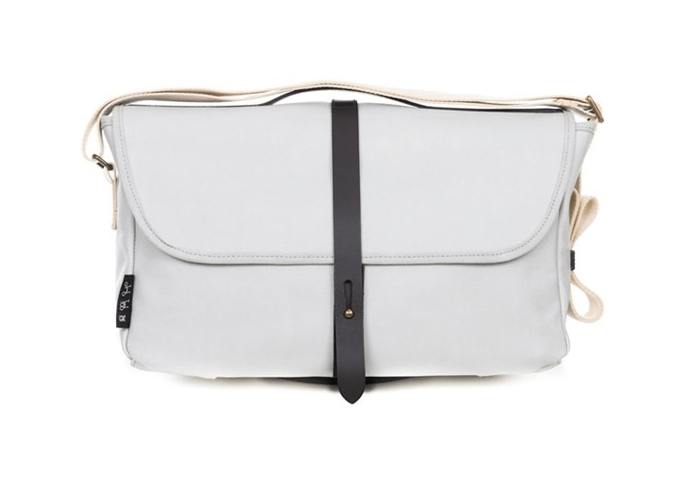 Brompton Shoulder Bag + Frame Grey