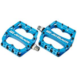 JetBlack Superlight MTB Pedals Low Profile - Blue - Cycles Galleria Melbourne