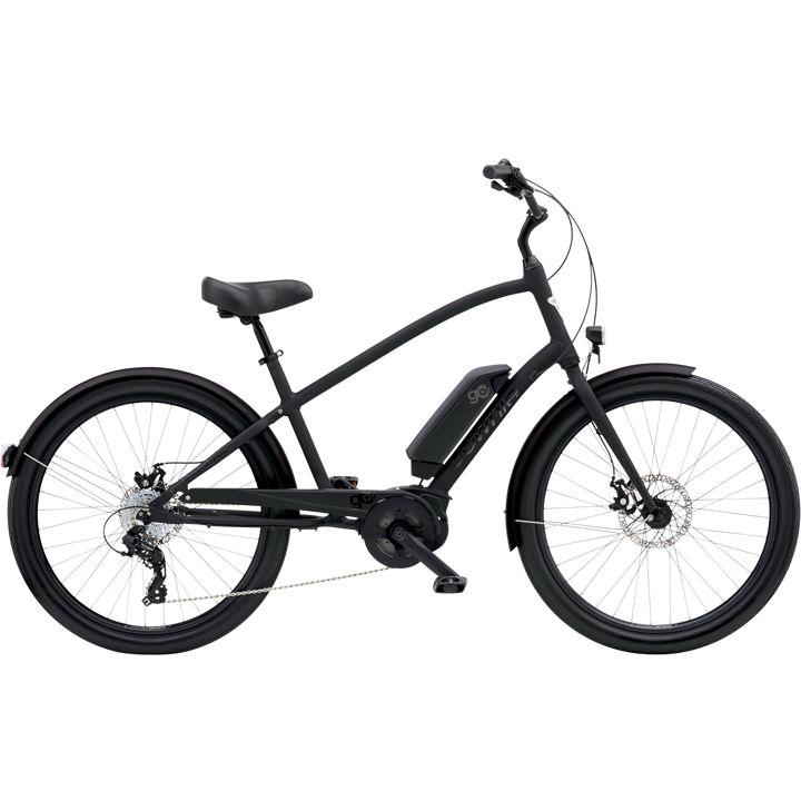 "Electra Townie Go! 8D Mens Step Over 26 "" Matte Black 2020"