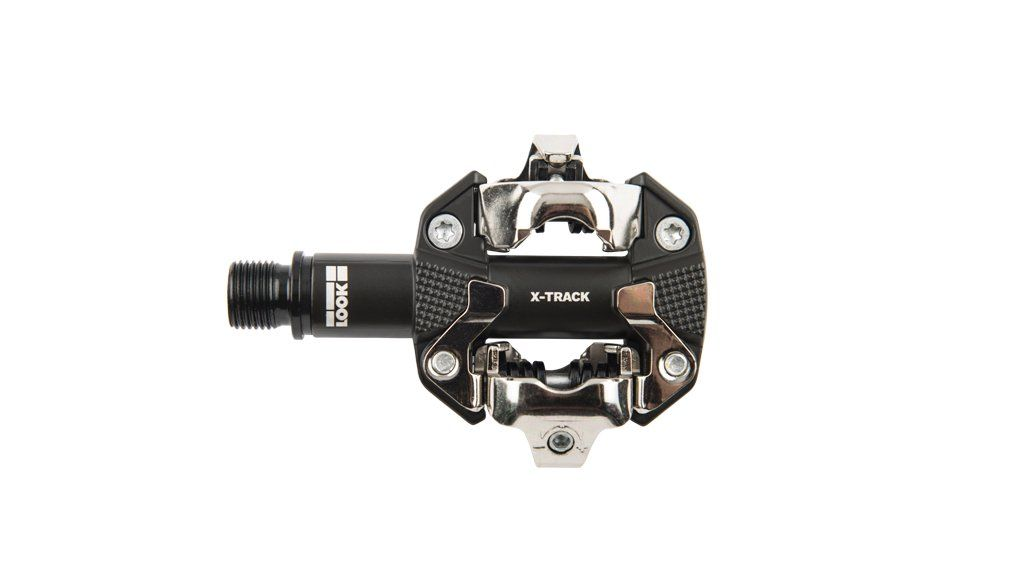 Look Xtrack Dark Grey Pedals - Cycles Galleria Melbourne