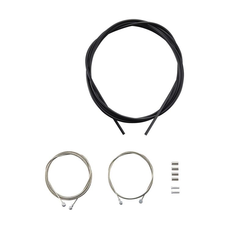 Shimano Brake CABLE SET - MTBGALVANIZED BLACK
