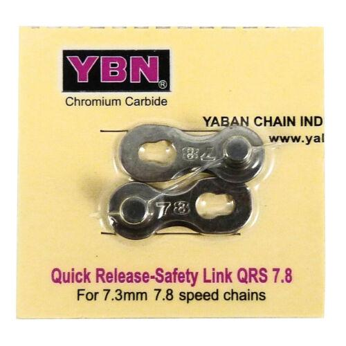 Ybn Qrs7.8 - 8Sp Link Silver
