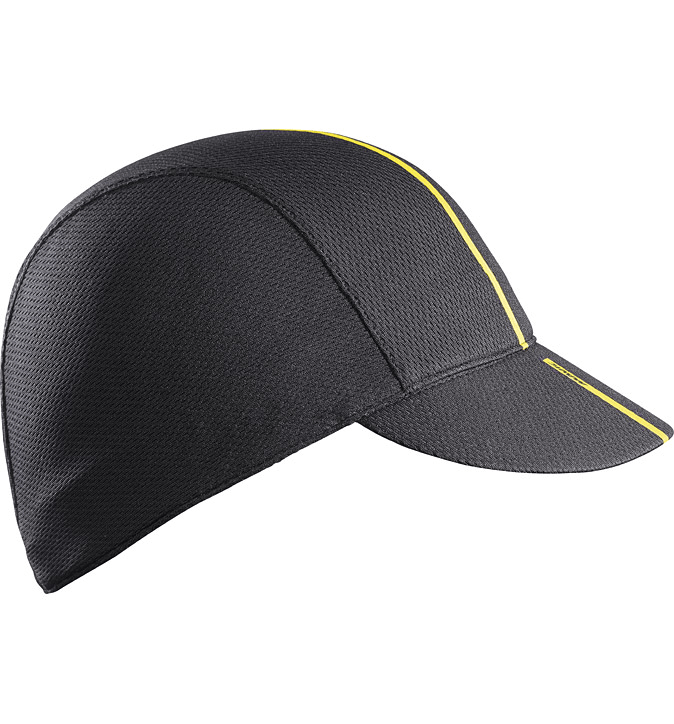 Mavic Road Cap Black - Cycles Galleria Melbourne