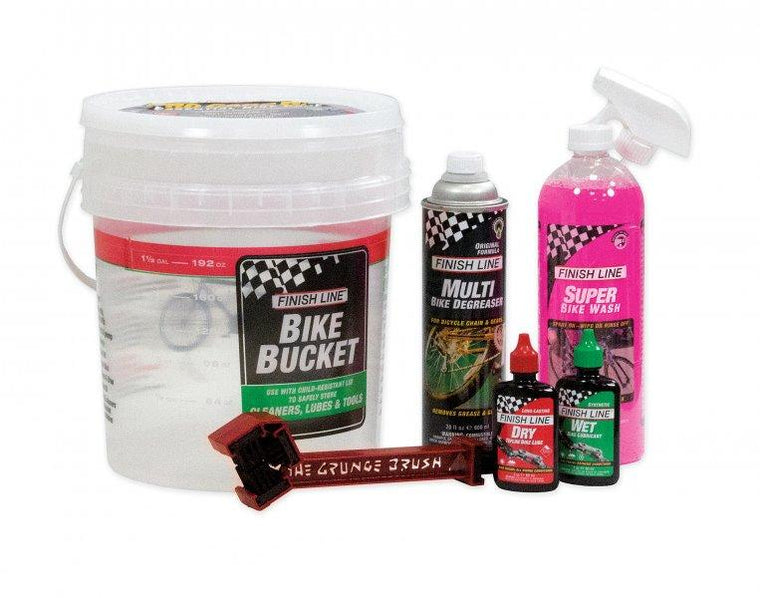FINISHLINE Pro Care Bucket 6.0 - Cycles Galleria Melbourne