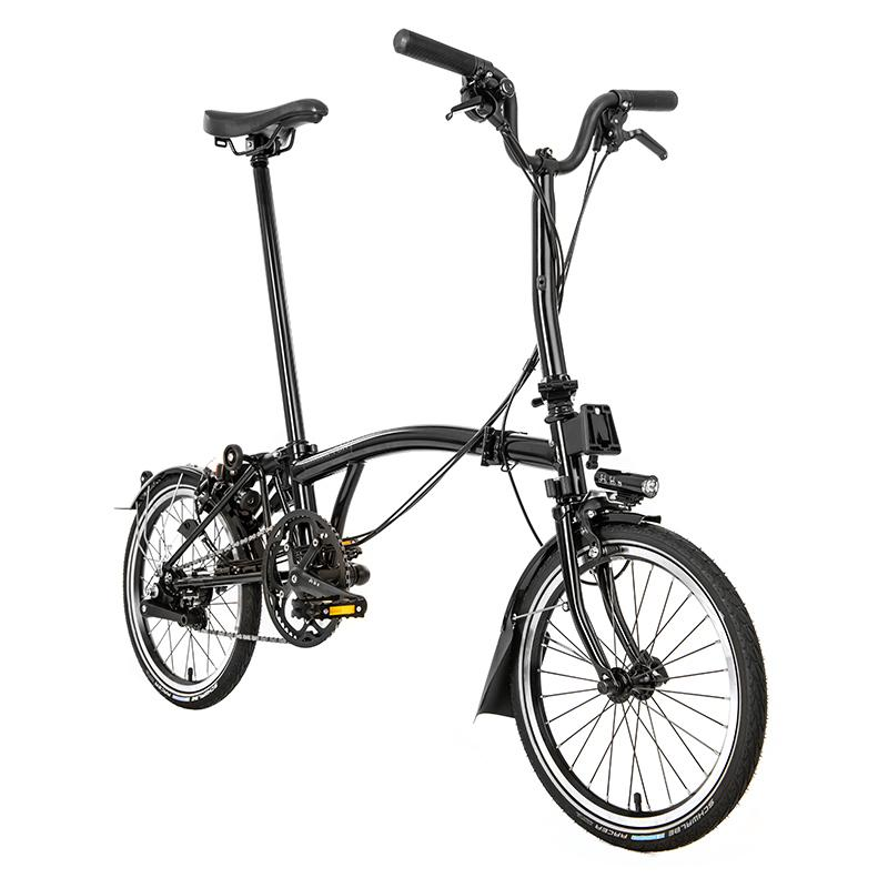 Brompton MY20 Black Edition M6L Gloss Black - Cycles Galleria Melbourne