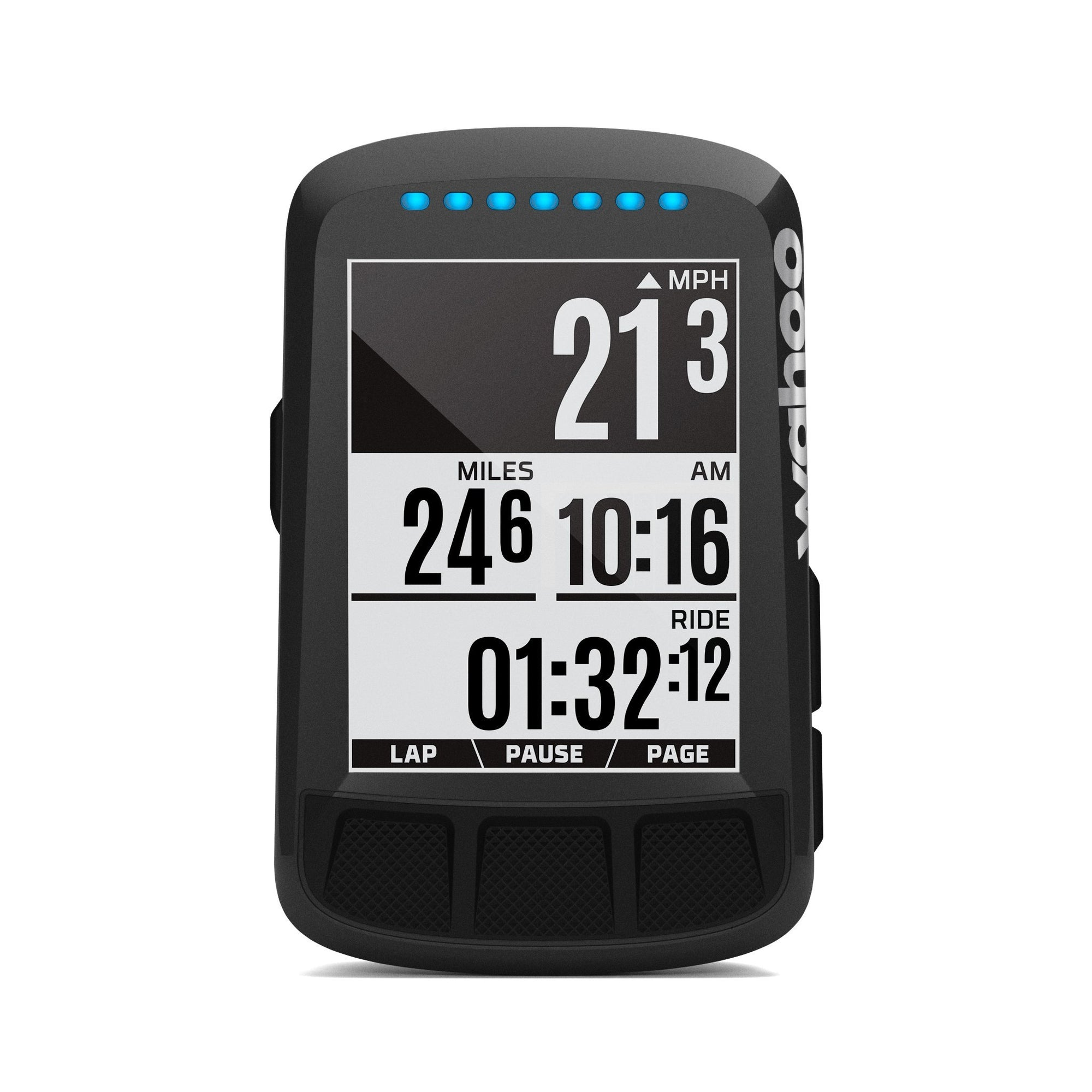 Wahoo ELEMNT BOLT GPS Bike Computer Stealth Black