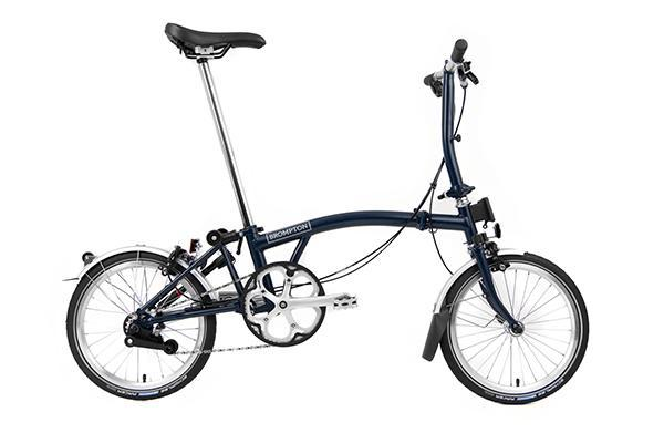 Brompton S2L Tempest Blue - Cycles Galleria Melbourne