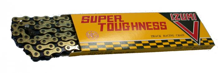 Izumi Super Toughness Chain, Super V 1/2X1/8 106 Links