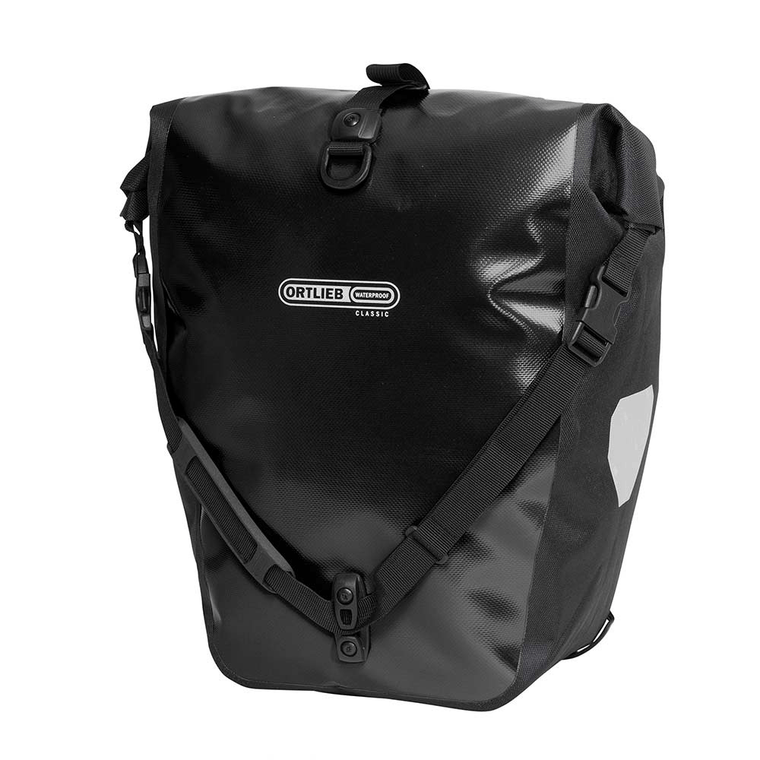 Ortlieb Pannier bags Back Roller Classic Black Pair - Cycles Galleria Melbourne