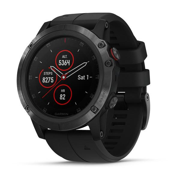 Garmin Fenix 5X Plus Sapphire Watch - Cycles Galleria Melbourne