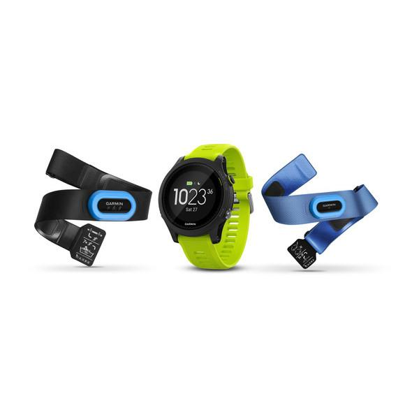 Garmin Forerunner 935 Black with Yello Straps Watch Tri-Bundle