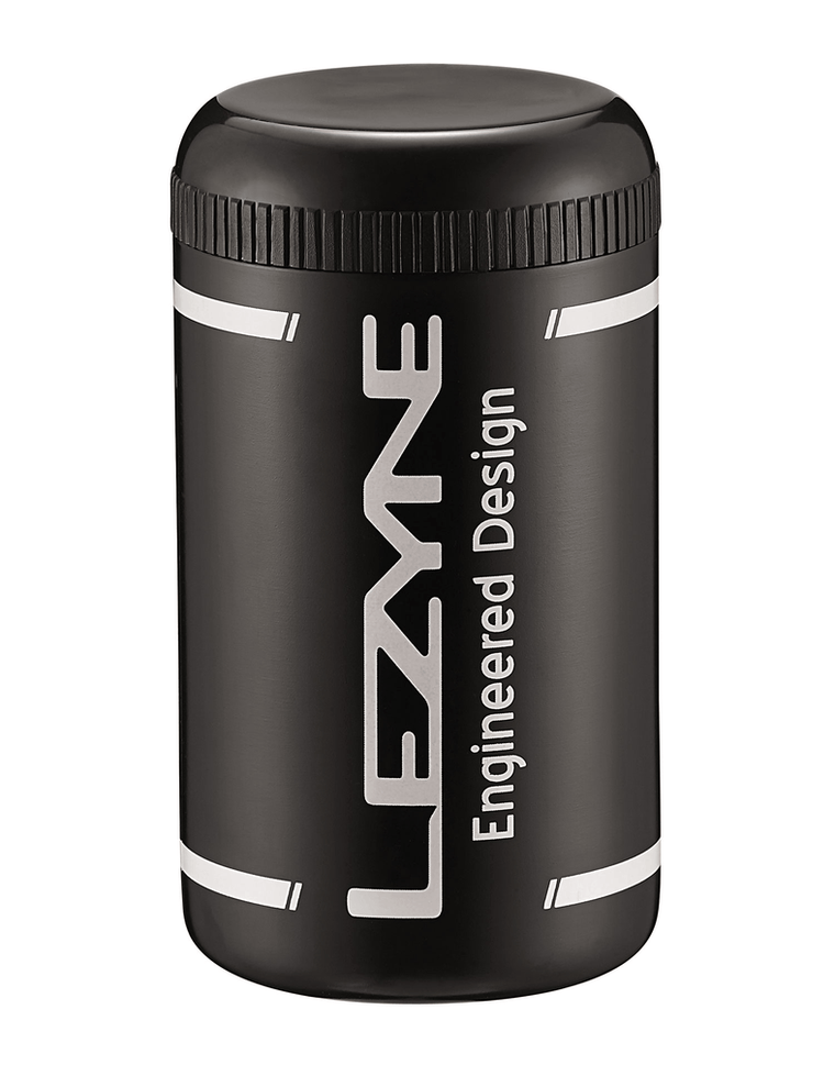 Lezyne Flow Caddy Bottle, w/Organiser Black - Cycles Galleria Melbourne