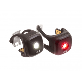 Knog Blinder 1 Twinpack F+R Black - Cycles Galleria Melbourne