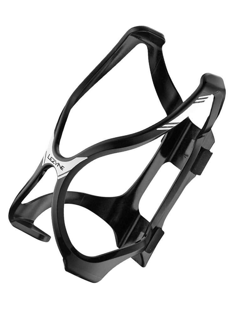 Lezyne Flow Cage HP Black - Cycles Galleria Melbourne