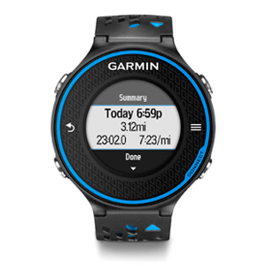 Garmin Forerunner 620 Black /Blue Premium Bundle - Cycles Galleria Melbourne