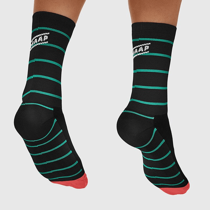 MAAP Breton Sock Black/Aqua - Cycles Galleria Melbourne
