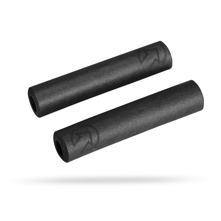 Pro Grips Silicone XC Black 32mm / 130mm - Cycles Galleria Melbourne