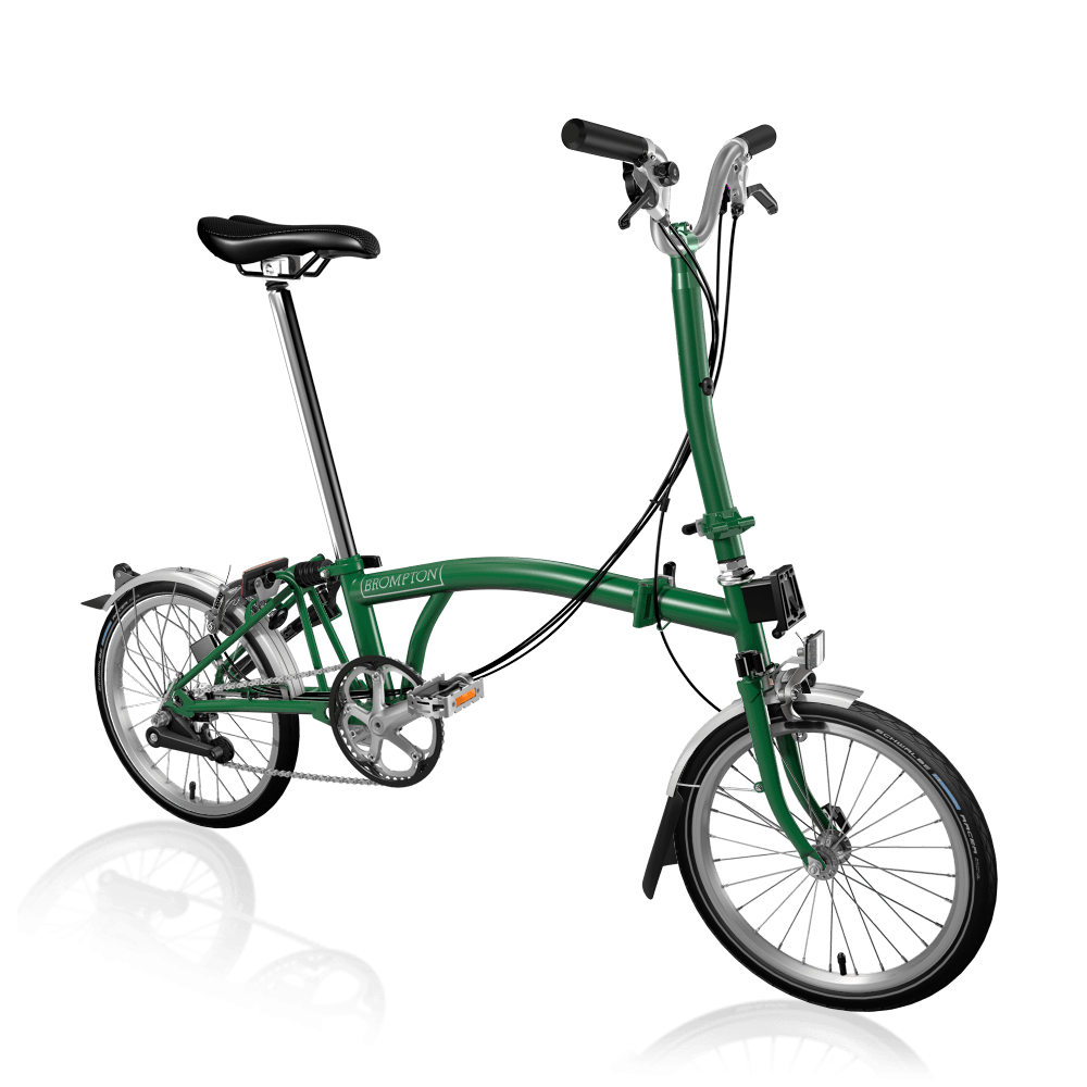 Brompton H6L Racing Green Folding Bike
