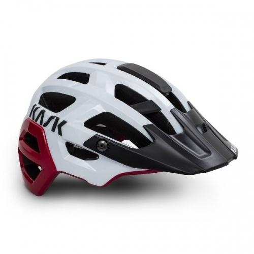 Kask Rex - White/Red