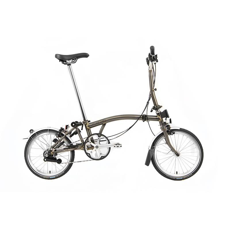 BROMPTON MY20 M6L RAW LACQUER - Cycles Galleria Melbourne