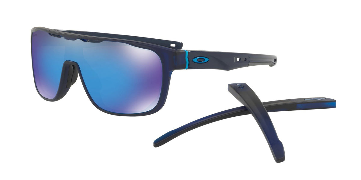 Oakley Crossrange Shield Matte Translucent Blue W/ Prizm