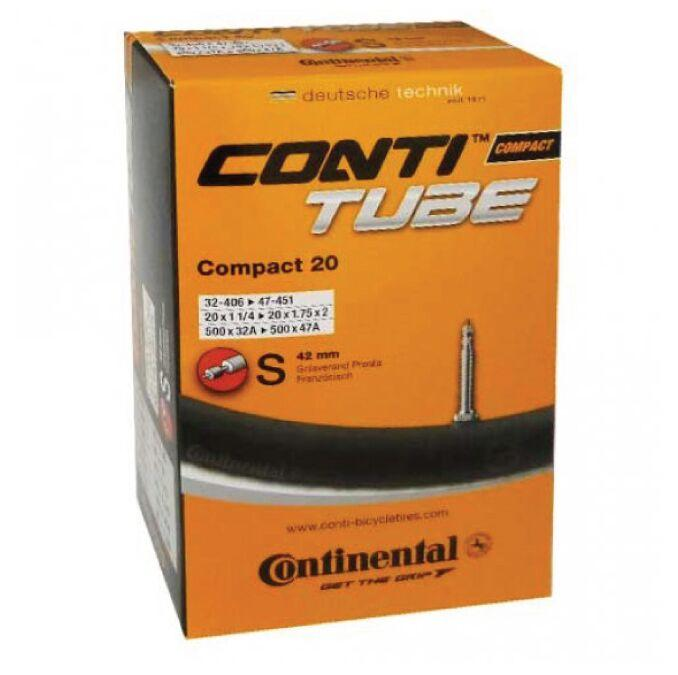 Continental Tube Compact 20 20X1 1/4 Presta 42mm
