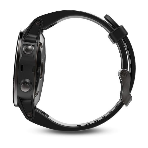 Garmin Black fenix 5S Sapphire Watch with Black Band