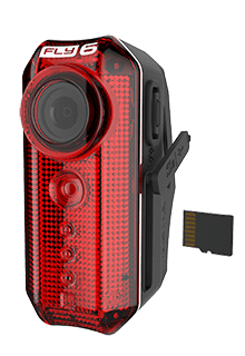 Cycliq Fly6[v] Rear Light with Built in HD Camera (incl. 8Gb Micro SD) - Cycles Galleria Melbourne