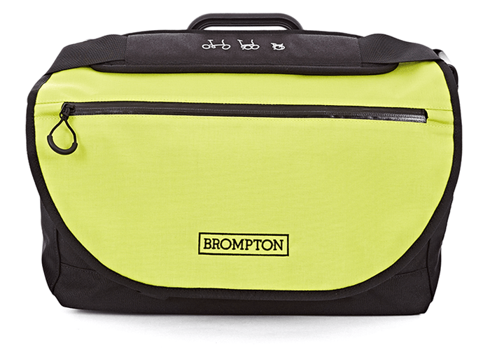 Brompton S Bag + frame Black/Lime