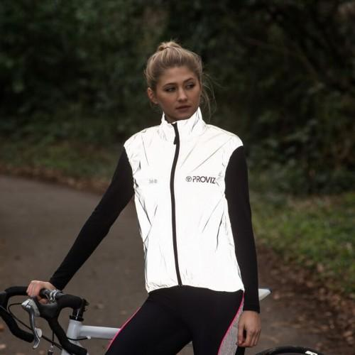 ProViz Womens 360 Reflect Wind Gilet - Cycles Galleria Melbourne