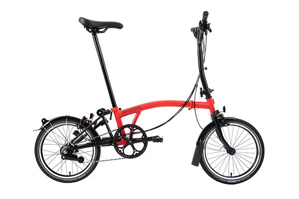 BROMPTON MY20 BLACK EDITION M6L GLOSS ROCKET