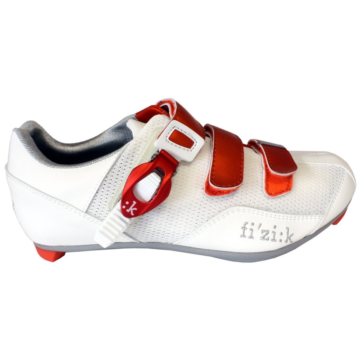 Fizik Womens R5 Shoe 39 White/Orange CLOSEOUT - Cycles Galleria Melbourne